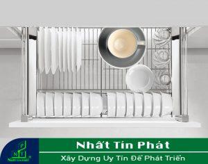 KỆ ÚP CHÉN INOX HIGOLD 303505 CHẤT LIỆU INOX 304